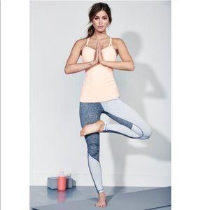 Zella   Grey Color Block Legging